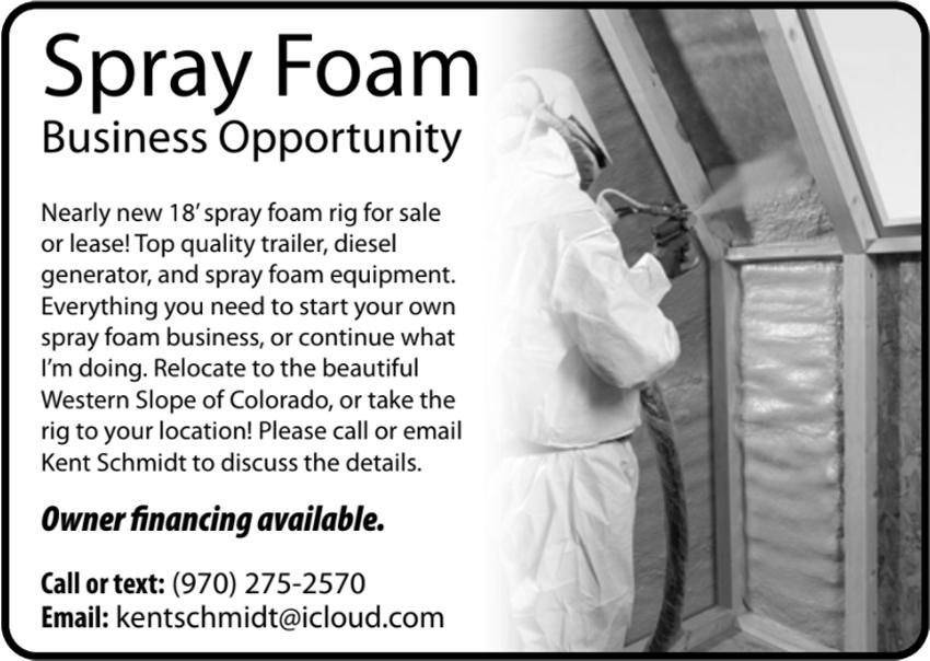 Spray Foam Business